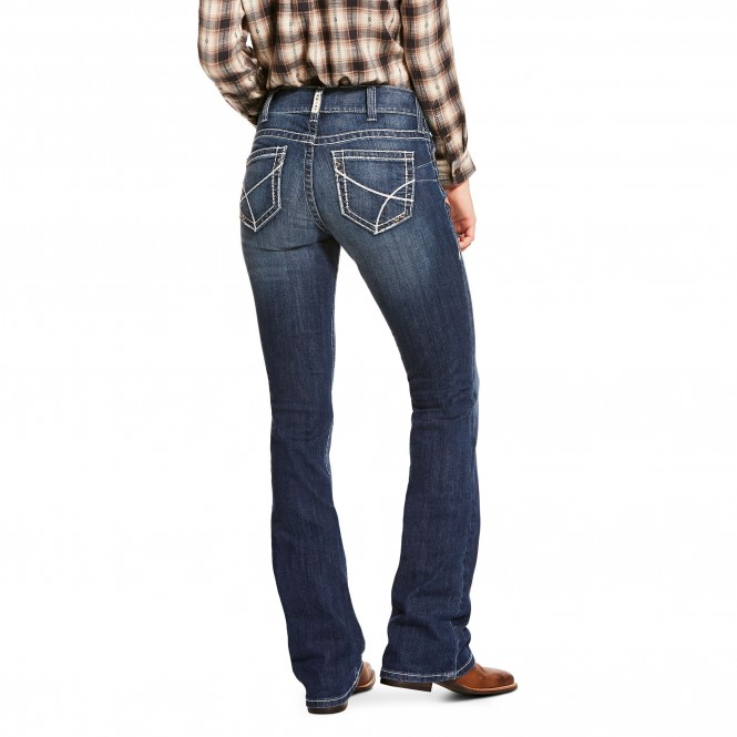 R.E.A.L. Perfect Rise Navajo Boot Cut Jean