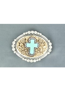 Buckla turquise cross