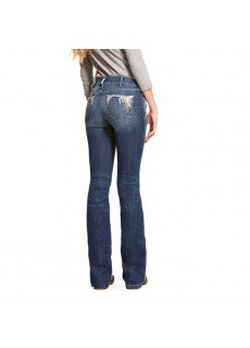 REAL Midrise Shimmer Bootcut jeans